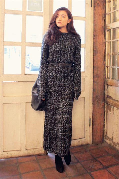 what is a knit dress stylenanda color blend knit dress kstylick