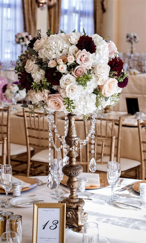 Large Hanging Lantern Chandelier 25 Best Wedding Flower Centerpieces Ideas On Pinterest