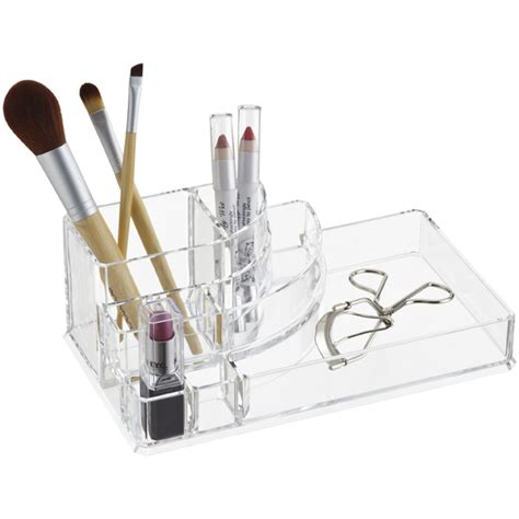 Acrylic Make Up Organizer Type D 006 deco acrylic cosmetic organizer the container store