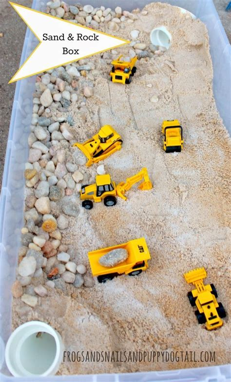 Toys Play Sand Others diy sand and rock box craft community board