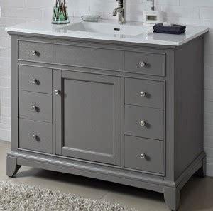 fairmont bathroom vanity smithfield 42 quot vanity medium gray fairmont designs fairmont designs