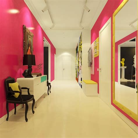Shipping Container Home Interiors by Modern Pop Art Interior By Dmitriy Schuka