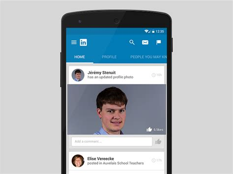 material design company profile linkedin material design uplabs