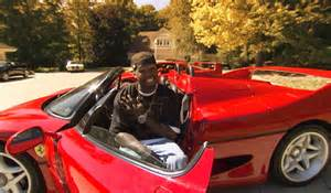 50 cent new car 50 cent is spending 67 000 a month to maintain his
