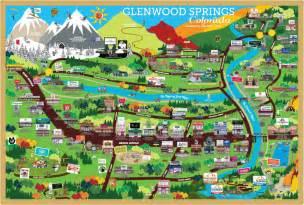 glenwood springs colorado map paradise publishing glenwood springs colorado
