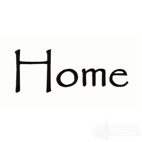 home design words home word