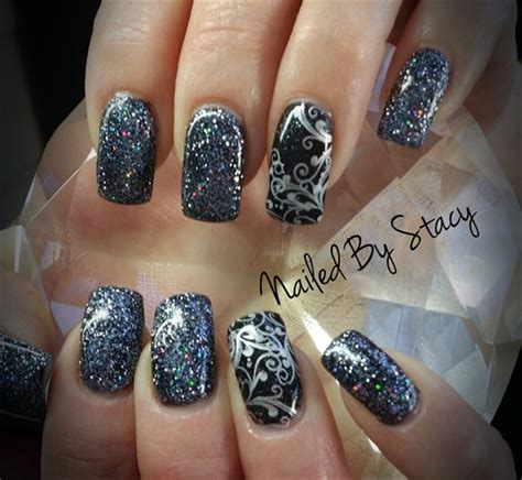 gel nail for new year sparkle new years 2014 nail gallery