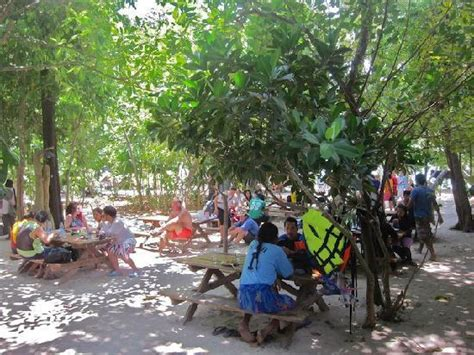 outdoor eating area moken village tour picture of mu ko surin national park