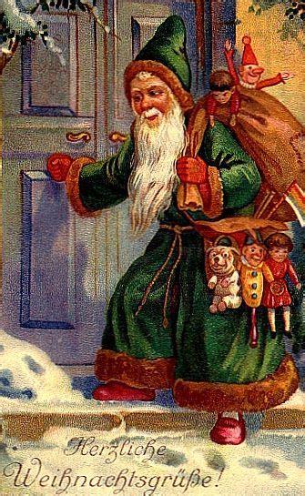 santa claus st nick father christmas  original english father christmas ill vintage