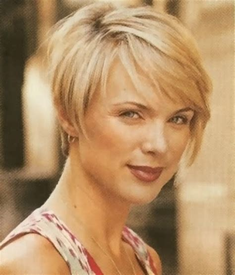 short hairstyles for women over 40 with thin fine hair and round fat face 2015 short hairstyles for women over 40