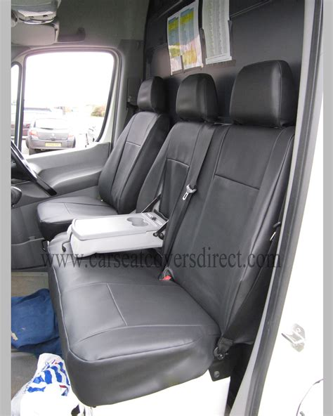 Vw Cervan Upholstery by Volkswagen Vw Crafter Black Seat Covers Custom Seat