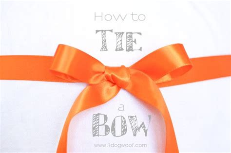 how to tie a gift bow six different ways dark brown hairs