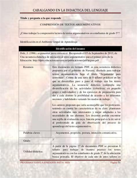 pdf libro de texto una propuesta sospechosa suspicious libro cabalgando en la didactica del lenguaje