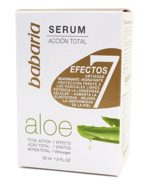 Serum Beautygirl Aloe babaria naturals aloe vera 7 effects serum 50ml ltd