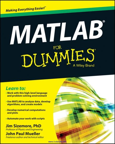Mat For Dummies by Matlab For Dummies 1