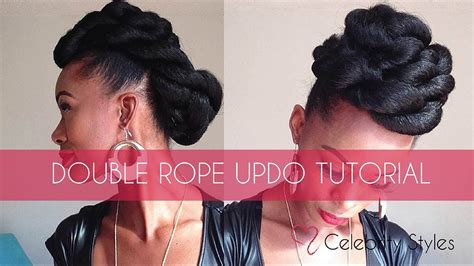 rope twist updo bun hairstyle double twist bun updo hair color ideas and styles for 2018