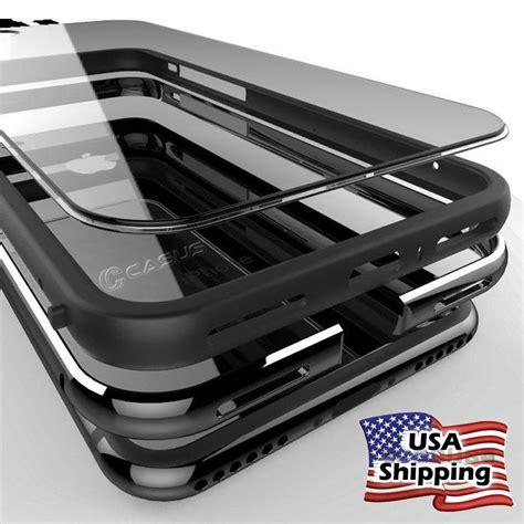 Jual Bumper Metal Alumunium Plus Back Cover Belakang Transparan Xiao clear plastic back aluminum metallic bumper cover for iphone 7 6s plus ebay
