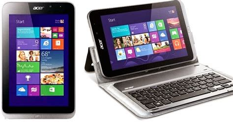 Harga Acer Iconia W4 acer iconia w4 tablet dengan keyboard dock digitalizer