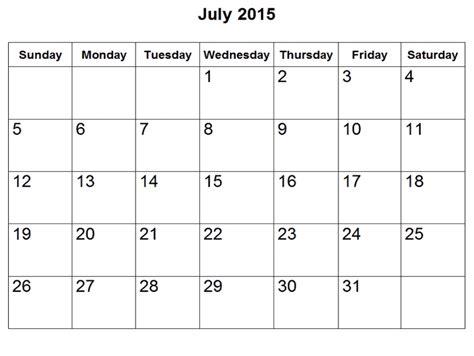 Calendar July 2015 July 2015 Search Results Calendar 2015