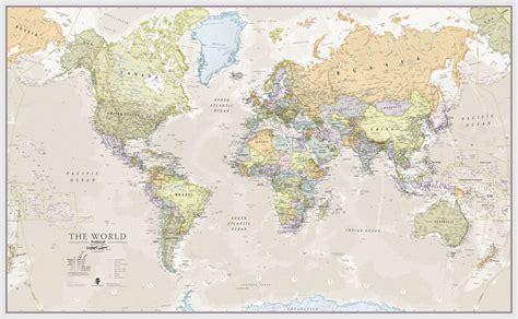 classic maps classic world map