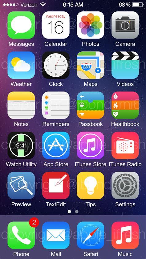 iphone screenshot new ios8 screenshots leaked 9to5mac