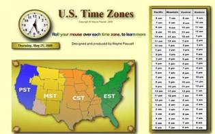 usa time zones right now united states timezones