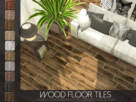 Rirann's Wood Floor Tiles