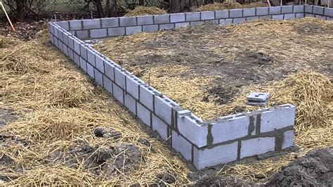 Cost To Pour Garage Foundation by 507 Gardenia Ground Is Broken With The Garage Foundation