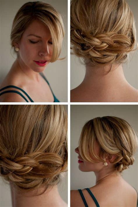 Hochzeitsfrisur Dunkelblond by Einfache Hochsteckfrisuren F 252 R Mittellange Haare