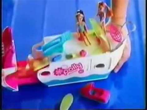 polly pocket boat commercial polly pocket party boat 16s 2008 youtube