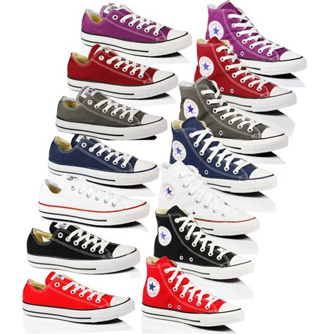 converse all chuck mens canvas trainers boots
