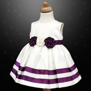 Dress Rabbit Bolero Ribbon cadbury purple ivory ribbon rosette dress bolero jacket baby toddler junior