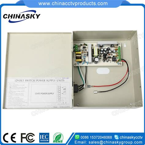 Cctv Distributor cctv power supply distributor with battery backup