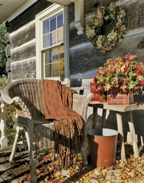 country fall decorating ideas autumn country porch fall decorating