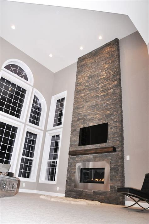 Fireplace Floor To Ceiling Ideas by Best 25 Fireplace Ideas On Living Room
