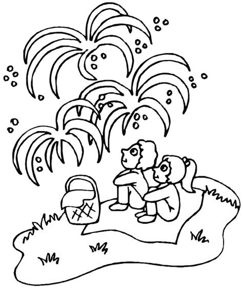 4th of july coloring pages preschool kids 4th of july crafts all kids network