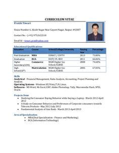 Best Mba Option For Engineers by Best Resume Format For Freshers Niveresume