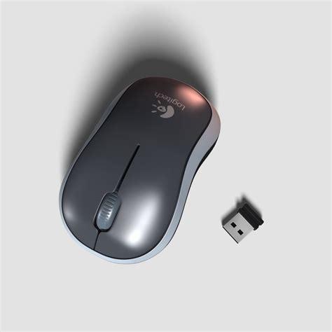 Logitech Wireless Mouse M 185 M185 logitech m185 wireless mouse model turbosquid 1184634