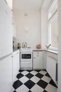 Kitchen Designs For Small Apartments by Black And White Kitchen Tile Iroonie Com