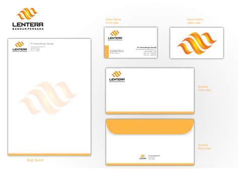 template untuk lop desain lop surat sribu stationery design desain stationery