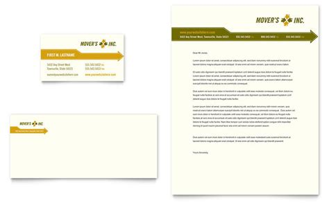 moving company business card template moving service business card letterhead template design
