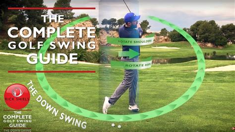 golf swing guide the downswing impact the complete golf swing guide