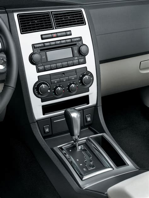 dodge charger center console picture pic image