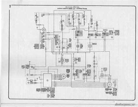 yamaha dt125r wiring diagram wiring diagram with description