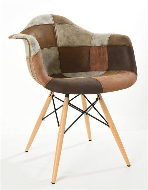 patchwork stuhl stuhl patchwork xl braun iconm 214 bel designerm 246 bel und