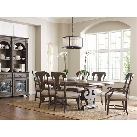 kincaid furniture wildfire eight piece formal dining room kincaid furniture greyson formal dining room group