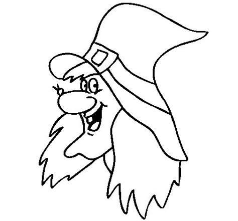 imagenes de brujas bonitas para dibujar disegno di strega da colorare acolore com