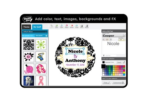 design your label online custom printed labels and stickers party invitations ideas
