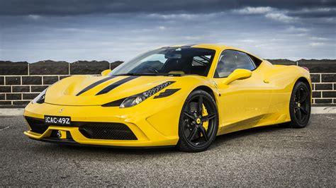 ferrari yellow car ferrari 458 speciale review caradvice