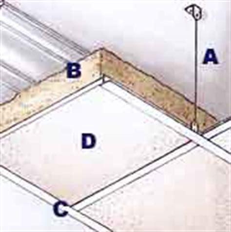 come isolare acusticamente il soffitto come isolare il soffitto e il pavimento